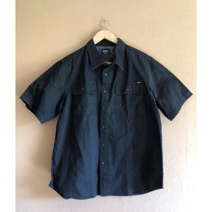 HUF casual button up. New with tags